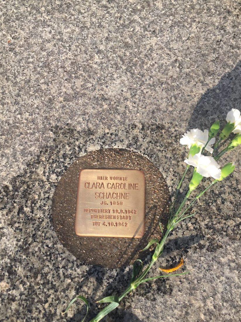 Im Gedenken an Clara Caroline Schachne